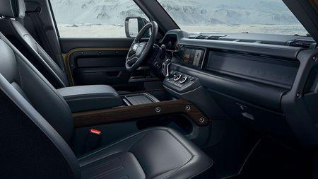 New Land Rover Defender 2019  interior