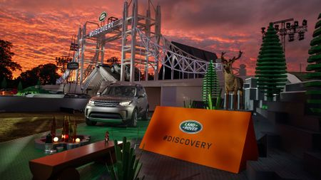 Launch of the new Land Rover Discovery