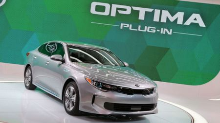 2016 Kia Optima PHEV Chicago Auto Show
