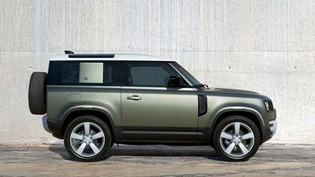 New Land Rover Defender 2019 side view