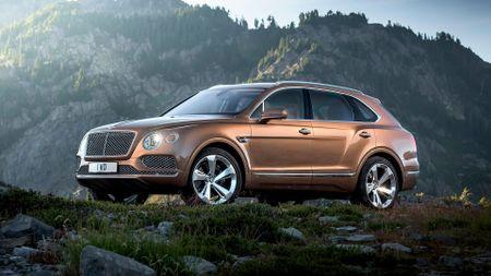 2016 Bentley Bentayga SUV revealed