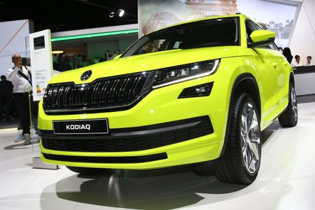 Skoda Kodiaq Paris Motor Show 2016
