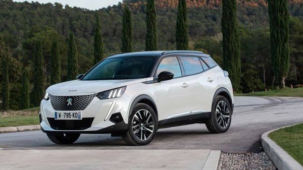 White Peugeot 2008 on a private driveway