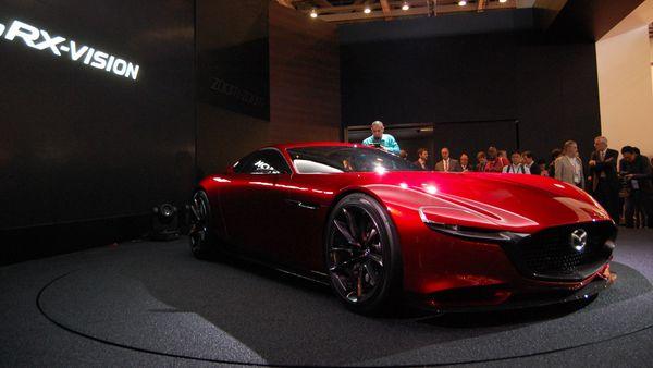 Mazda RX-Vision Concept Tokyo Motor Show 2015