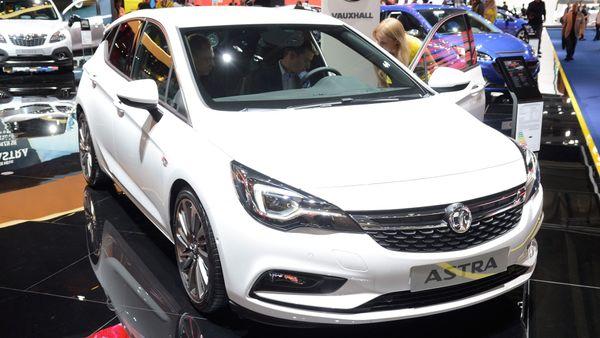 2015 Frankfurt Motor Show Vauxhall Astra