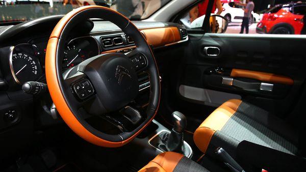 2017 Citroen C3 steering wheel