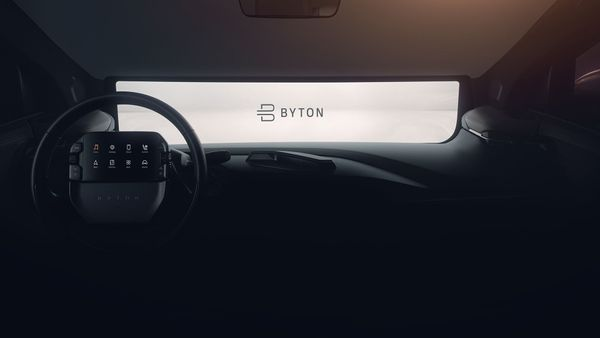 Byton Shared Experience Display CES 2019