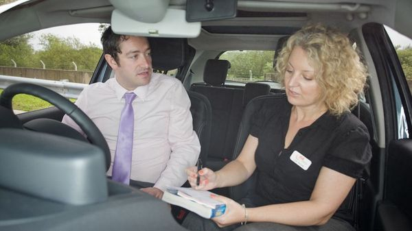 driving examiner asking show me, tell me questions