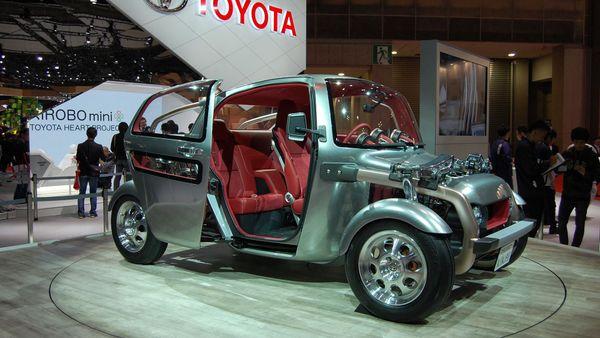 Toyota Kikai Concept Tokyo Motor Show 2015