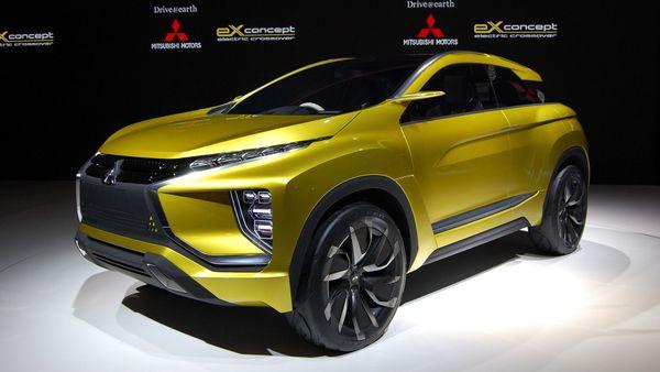 Mitsubishi eX concept Tokyo Motor Show