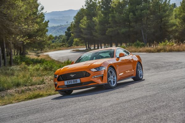 Ford Mustang 2017, UK muscle car