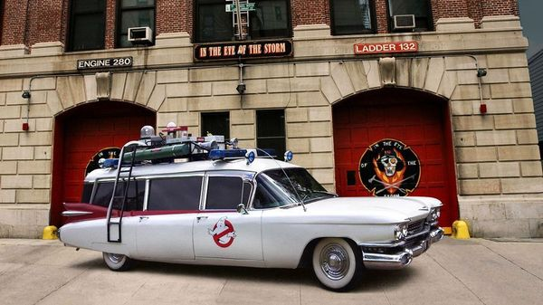 Ghostbuster Ecto-1, the Cadillac Miller-Meteor