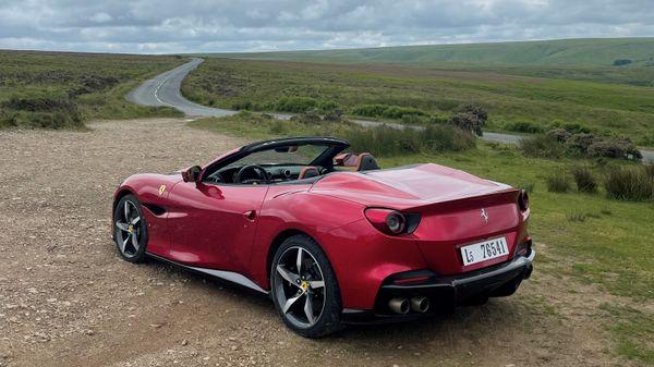 Ferrari Portofino M rear
