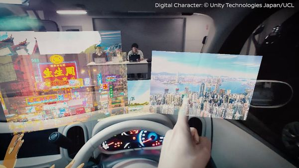 Nissan Invisible to Visible CES 2019