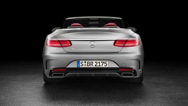 2016 Mercedes S-Class Cabriolet
