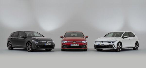 Volkswagen Golf GTD, GTE and GTI