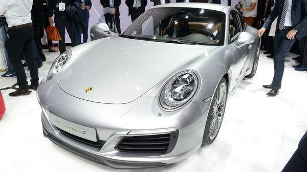 Frankfurt 2015: Porsche 911
