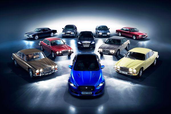 50 years of Jaguar XJ