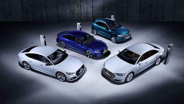 Plug-in hybrid versions of A6, A7, A8 and Q5