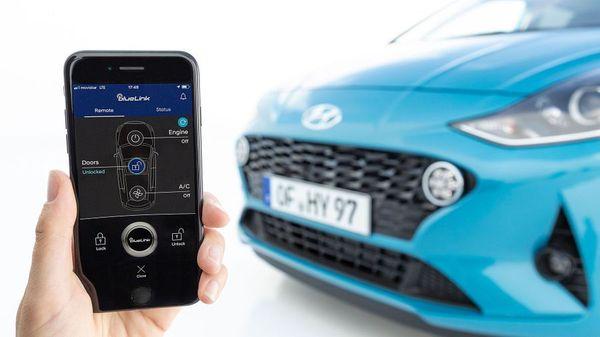 New Hyundai i10 2020 tech