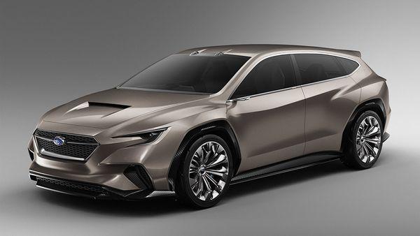 2019 Subaru Viziv Tourer concept