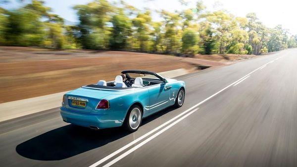 Rolls Royce Dawn rear