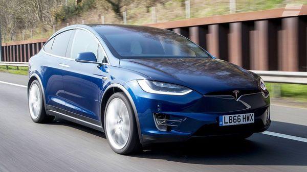 Tesla Model X electric car