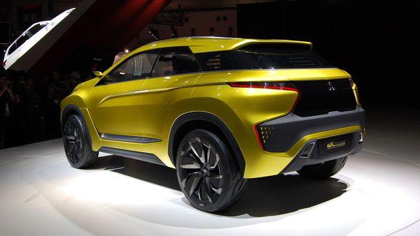 2015 Mitsubishi eX-Concept