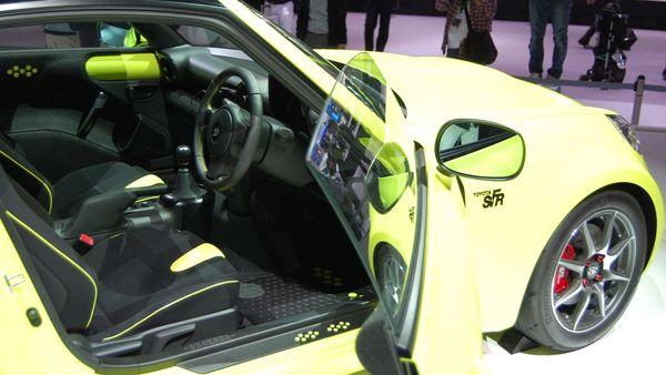 Toyota S-FR concept Tokyo Motor Show