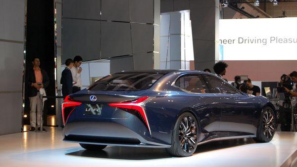 Lexus LF-LC Concept Tokyo Motor Show 2015
