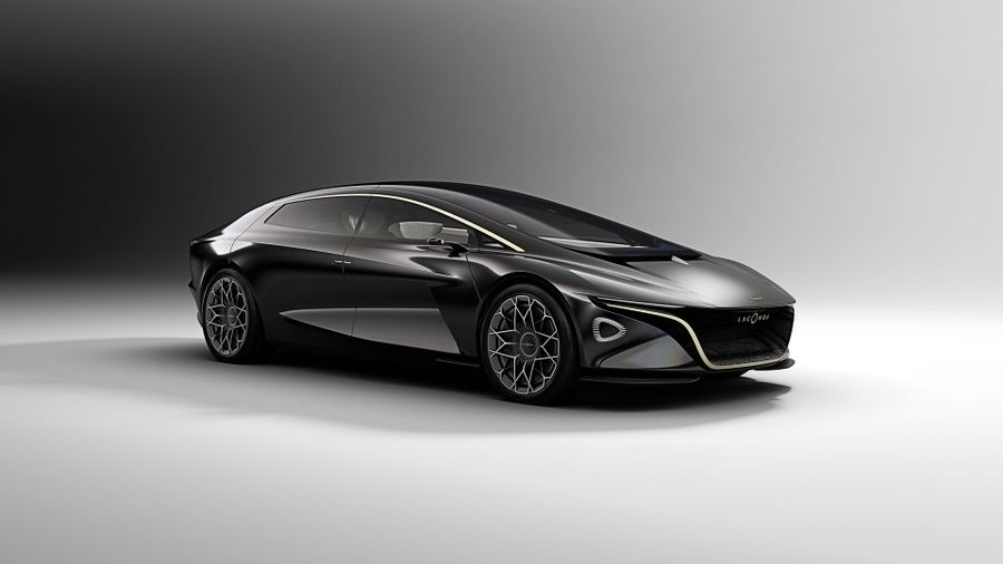 Lagonda Vision Concept shown at Geneva