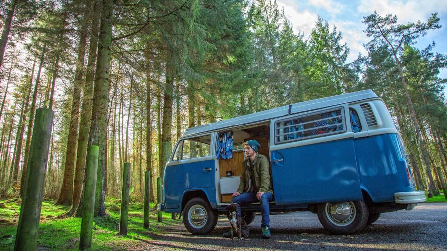 Top 5 vans to live in full time - VW Bus