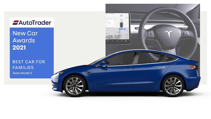 Best Car for Families Award 2021 – Tesla Model 3