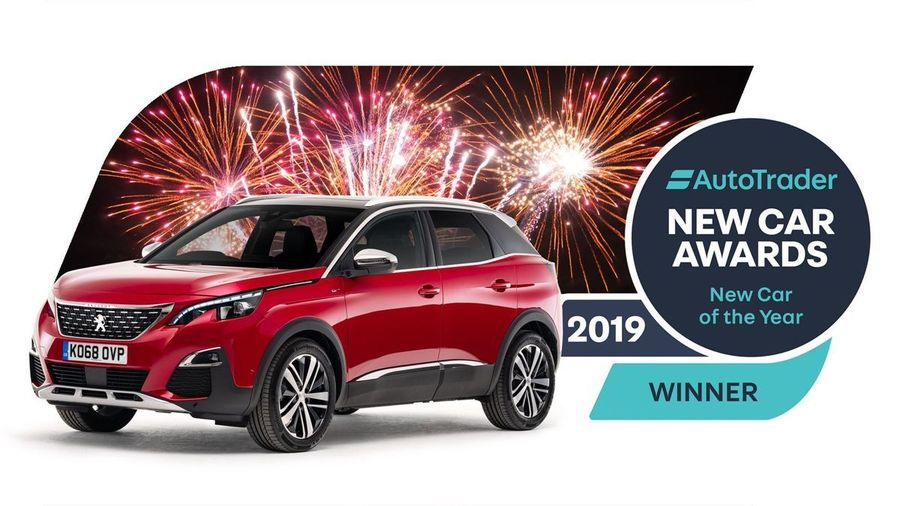 A red Peugeot 3008, our New Car of the Year award winner
