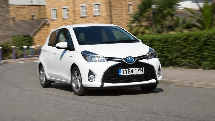 Toyota Yaris hybrid car