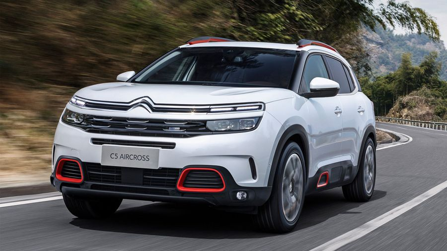 citroen reveals new c5 aircross suv auto trader uk. Black Bedroom Furniture Sets. Home Design Ideas