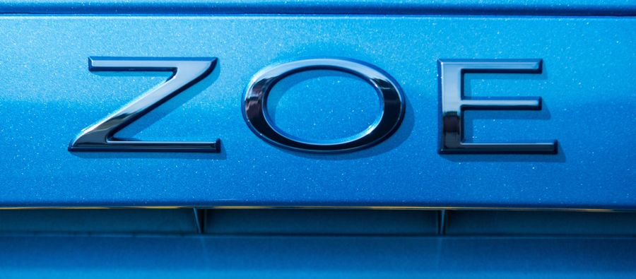 Renault ZOE badge