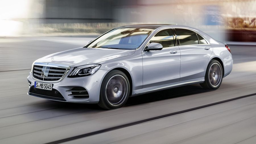 mercedes-benz reveals refreshed s-class in shanghai | auto trader uk