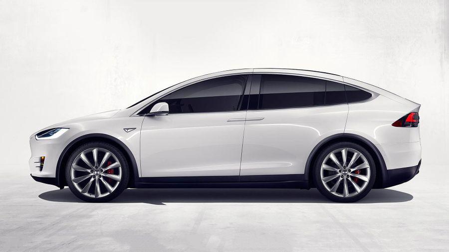 Tesla model x suv breaks cover auto trader uk for Tesla model x cabin air filter