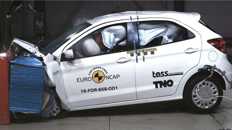 Euro NCAP Ford Ka+