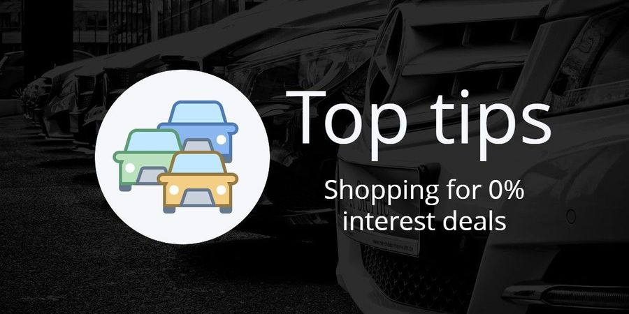 Top Tips shopping for 0% interest deals