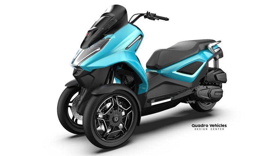 Top 5 Alternative 3 Wheel Motorcycles: Quadro