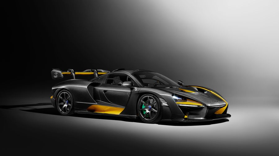 McLaren Senna Carbon Theme by MSO