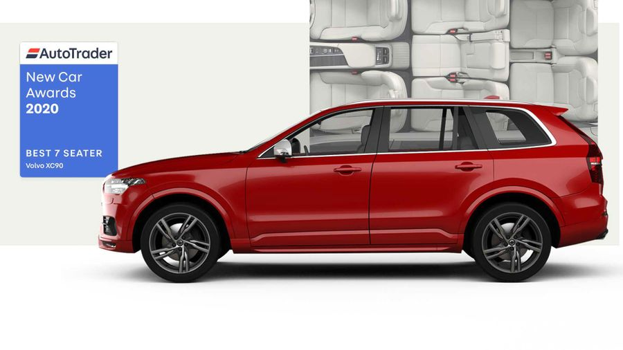 Volvo XC90, voted Best 7 Seater 2020