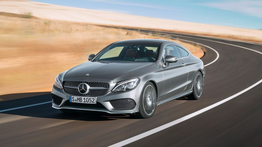 2015 Mercedes-Benz C-class Coupe front track