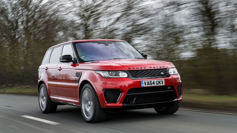 Range Rover Sport SVR dynamic