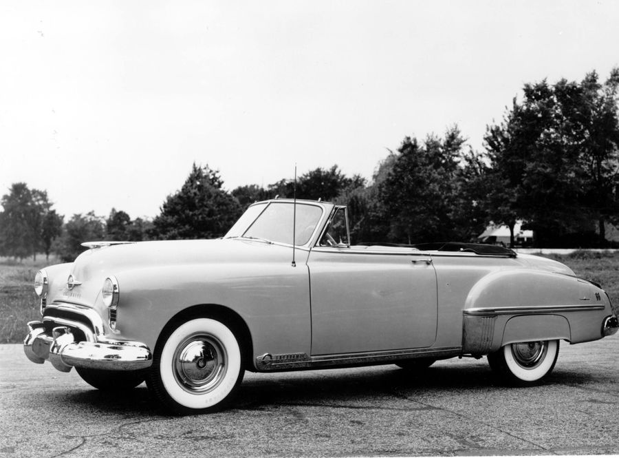 First muscle car, the Oldsmobile Rocket 88