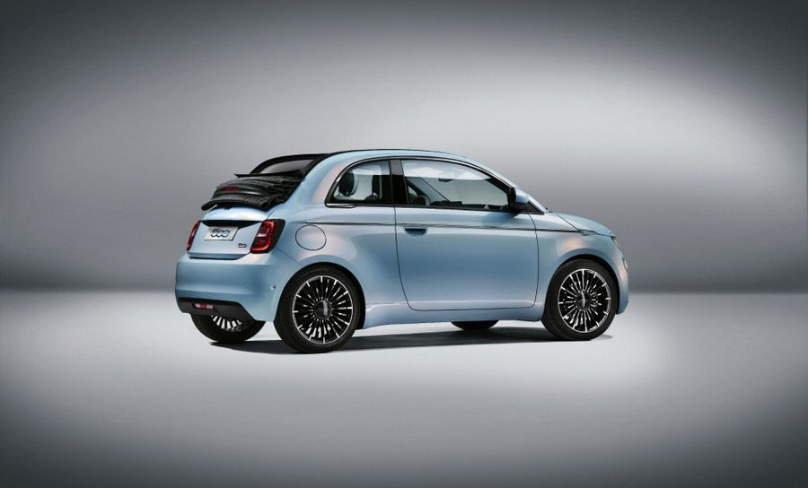 Coming soon: all-new Fiat 500 goes electric