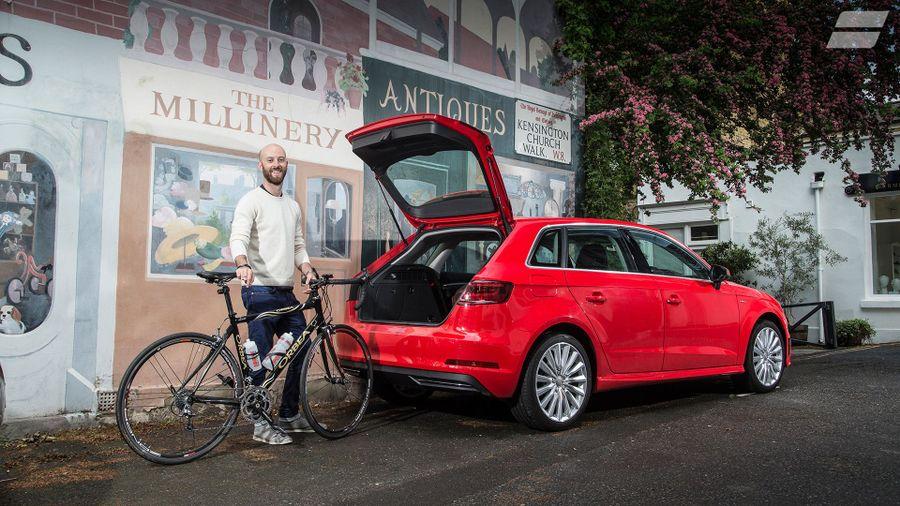 2015 Audi A3 e-tron bike