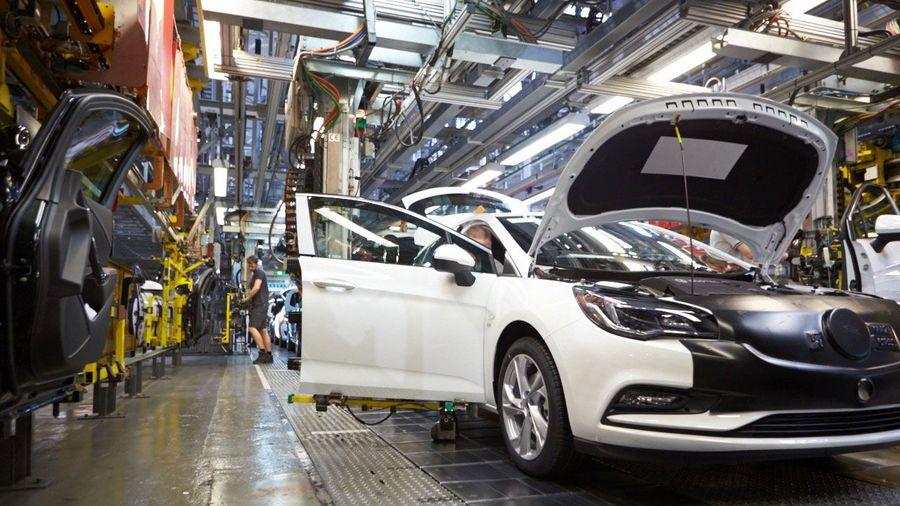 Vauxhall production at Ellesmere Port
